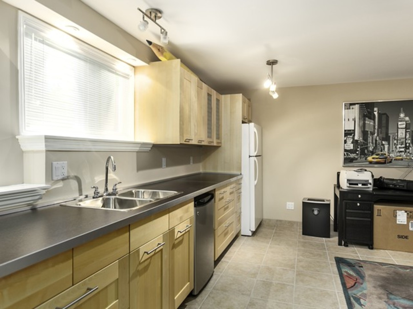 Lower Kitchen at 3023 Maplewood Court, Westwood Plateau, Coquitlam