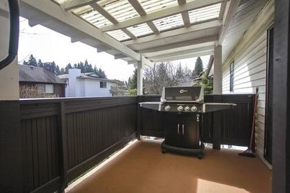 Patio at 1280 Victoria Drive, Oxford Heights, Port Coquitlam