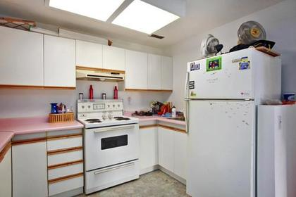 Basement Kitchen at 1280 Victoria Drive, Oxford Heights, Port Coquitlam