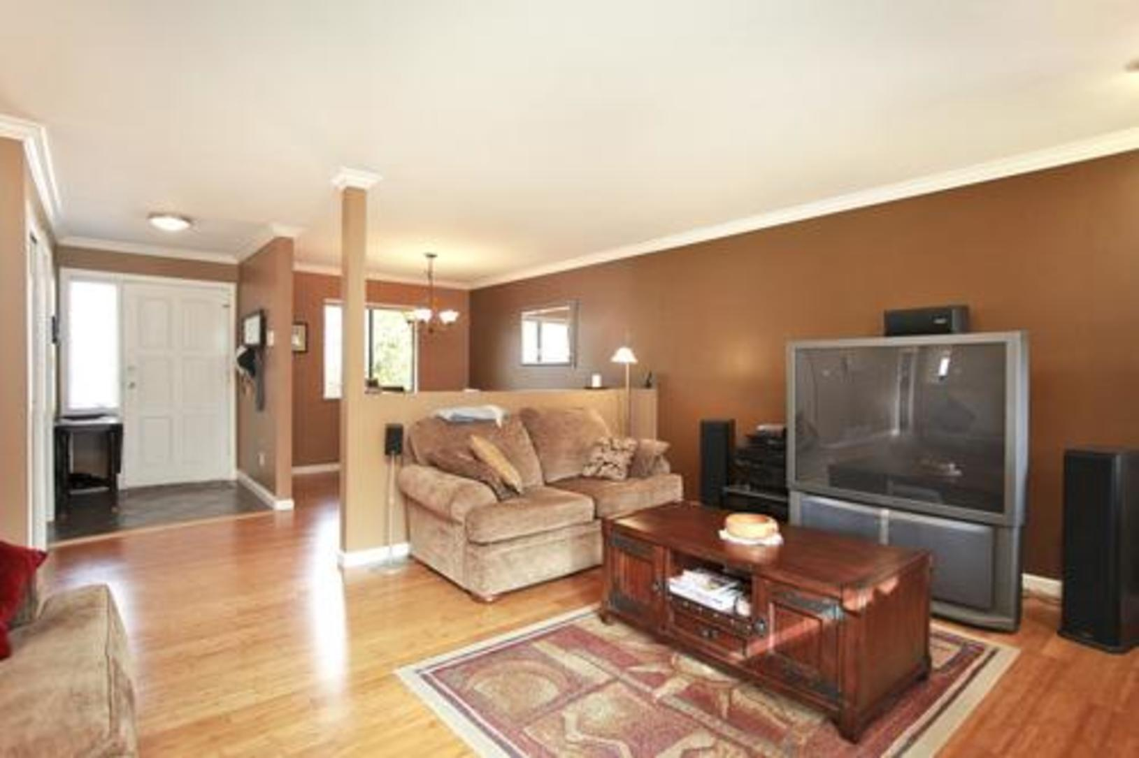 Living room at 1280 Victoria Drive, Oxford Heights, Port Coquitlam