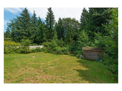 Backyard-2 at 780 Anderson Crescent, Sentinel Hill, West Vancouver