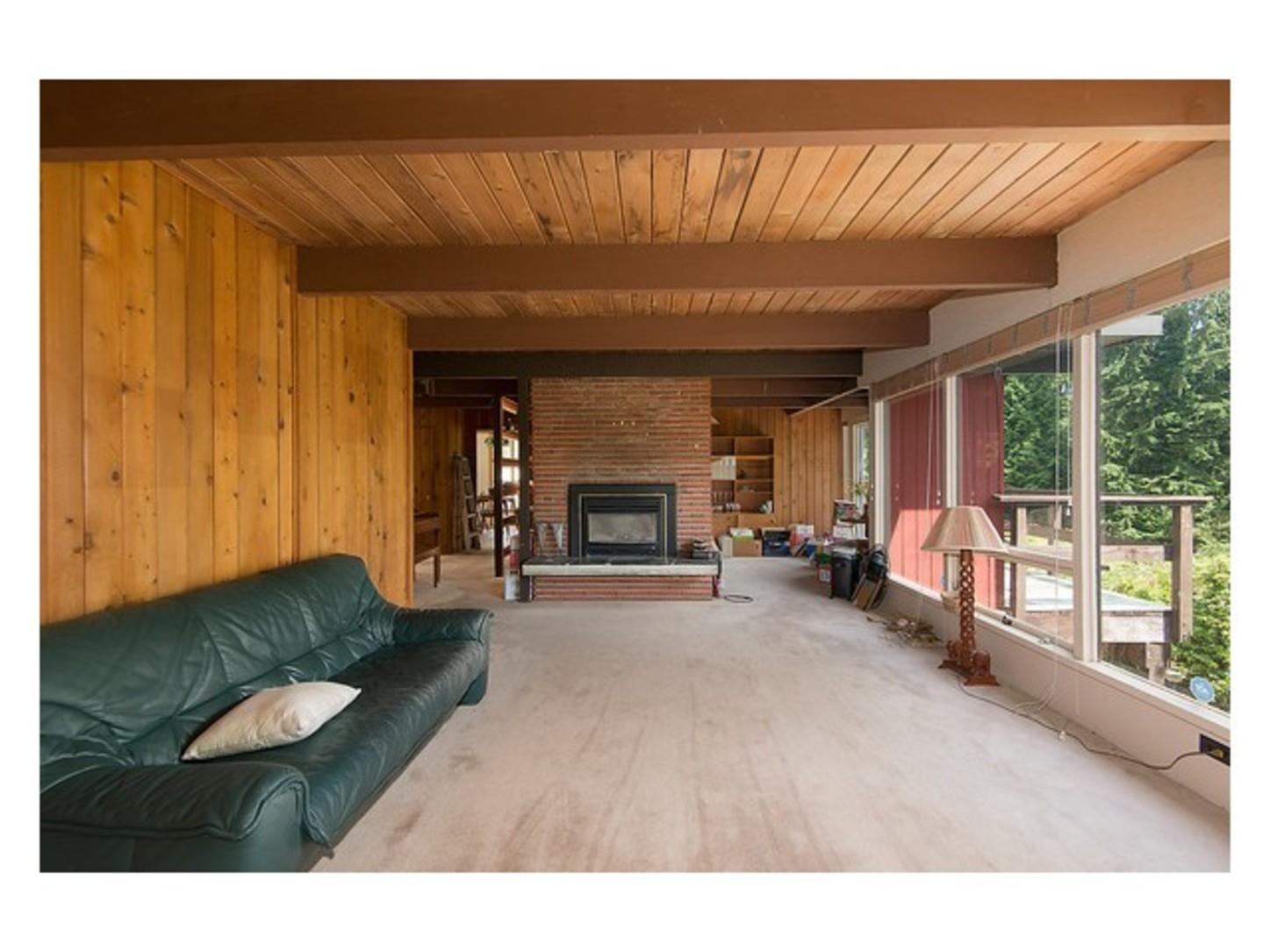 Living room at 780 Anderson Crescent, Sentinel Hill, West Vancouver