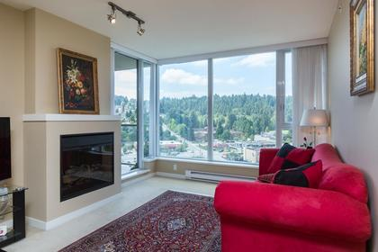 Living room at 1802-651 Nootkaway Street, Port Moody