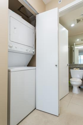 Laundry at 1802-651 Nootkaway Street, Port Moody