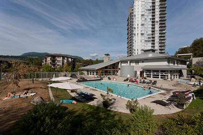 Aerial view at 1802-651 Nootkaway Street, Port Moody