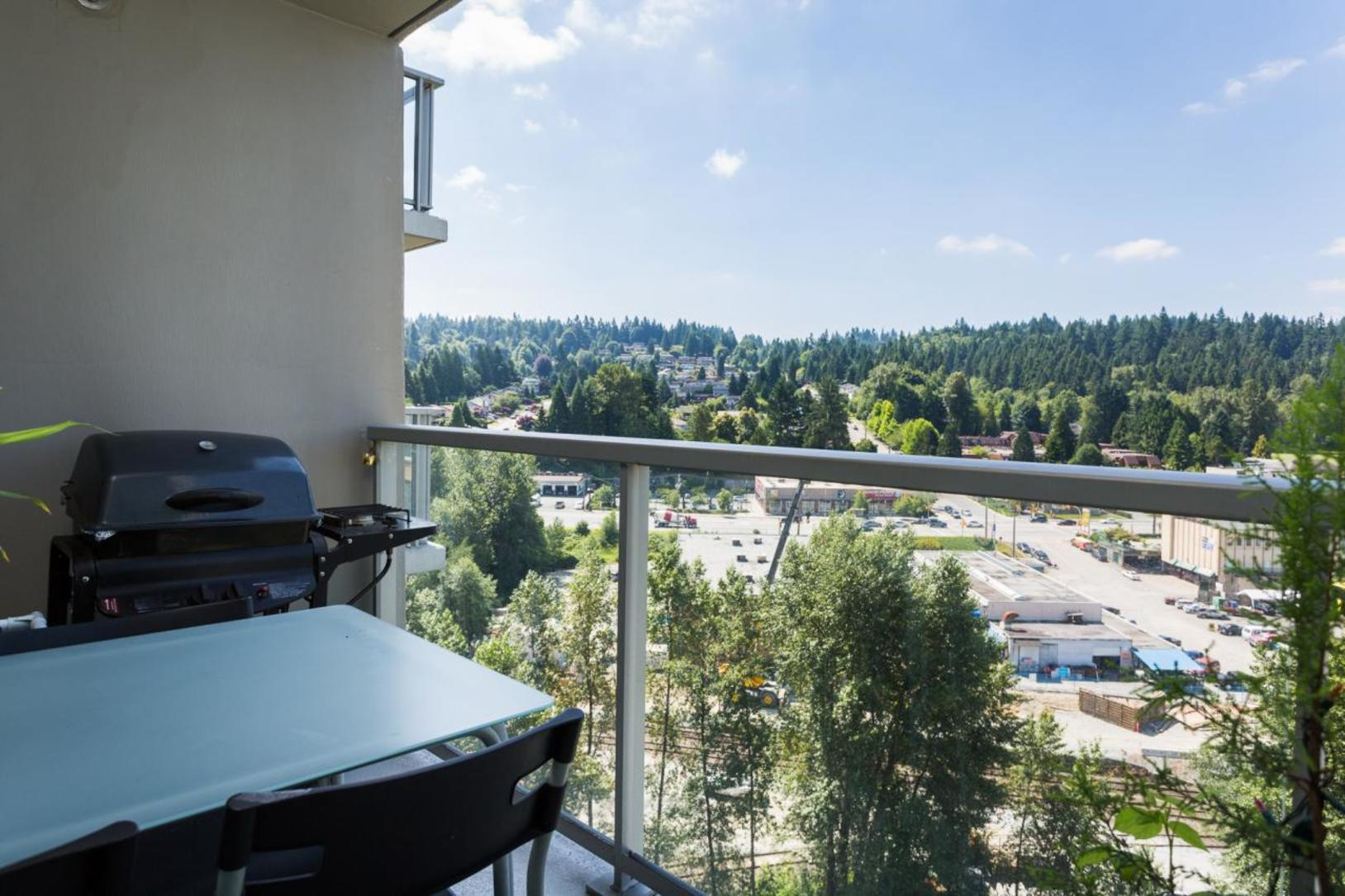 Balcony at 1802-651 Nootkaway Street, Port Moody