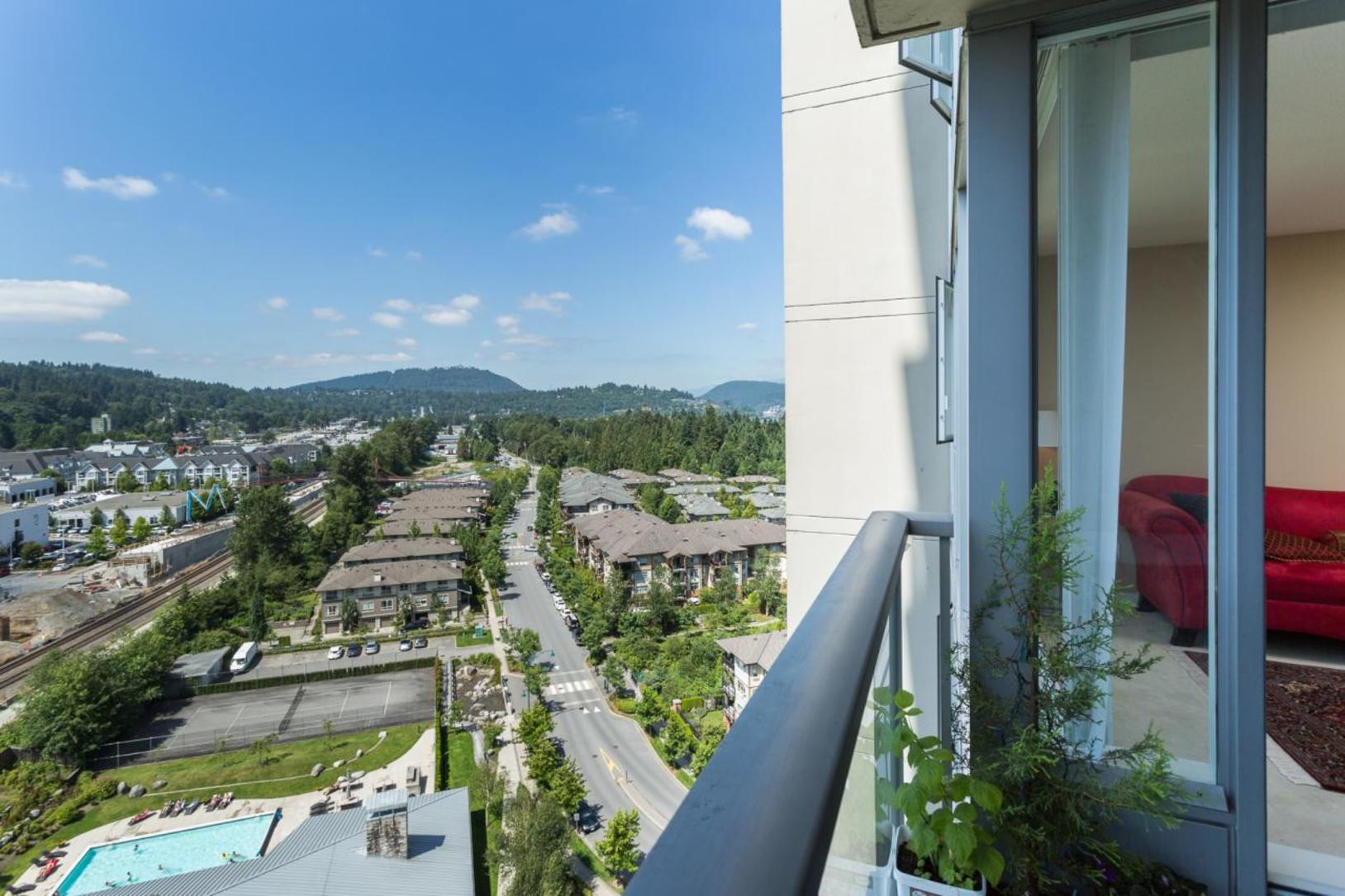 City view at 1802-651 Nootkaway Street, Port Moody