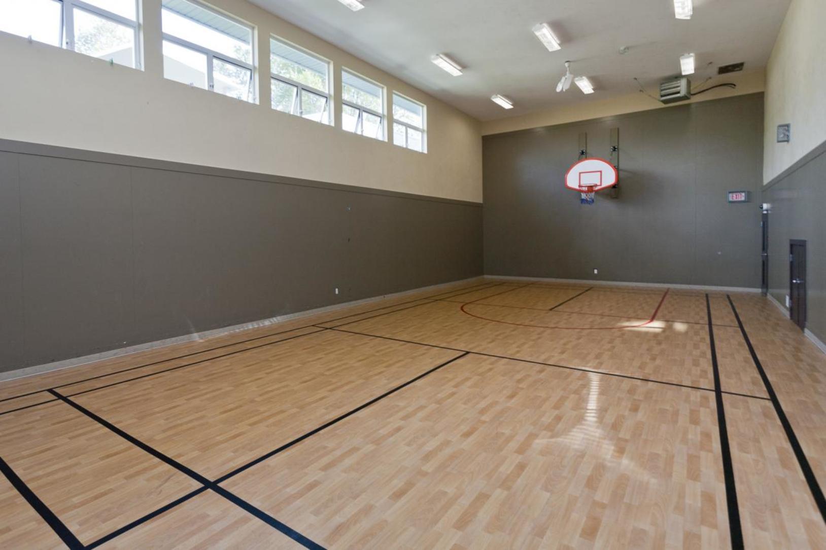 Basketball room at 1802-651 Nootkaway Street, Port Moody