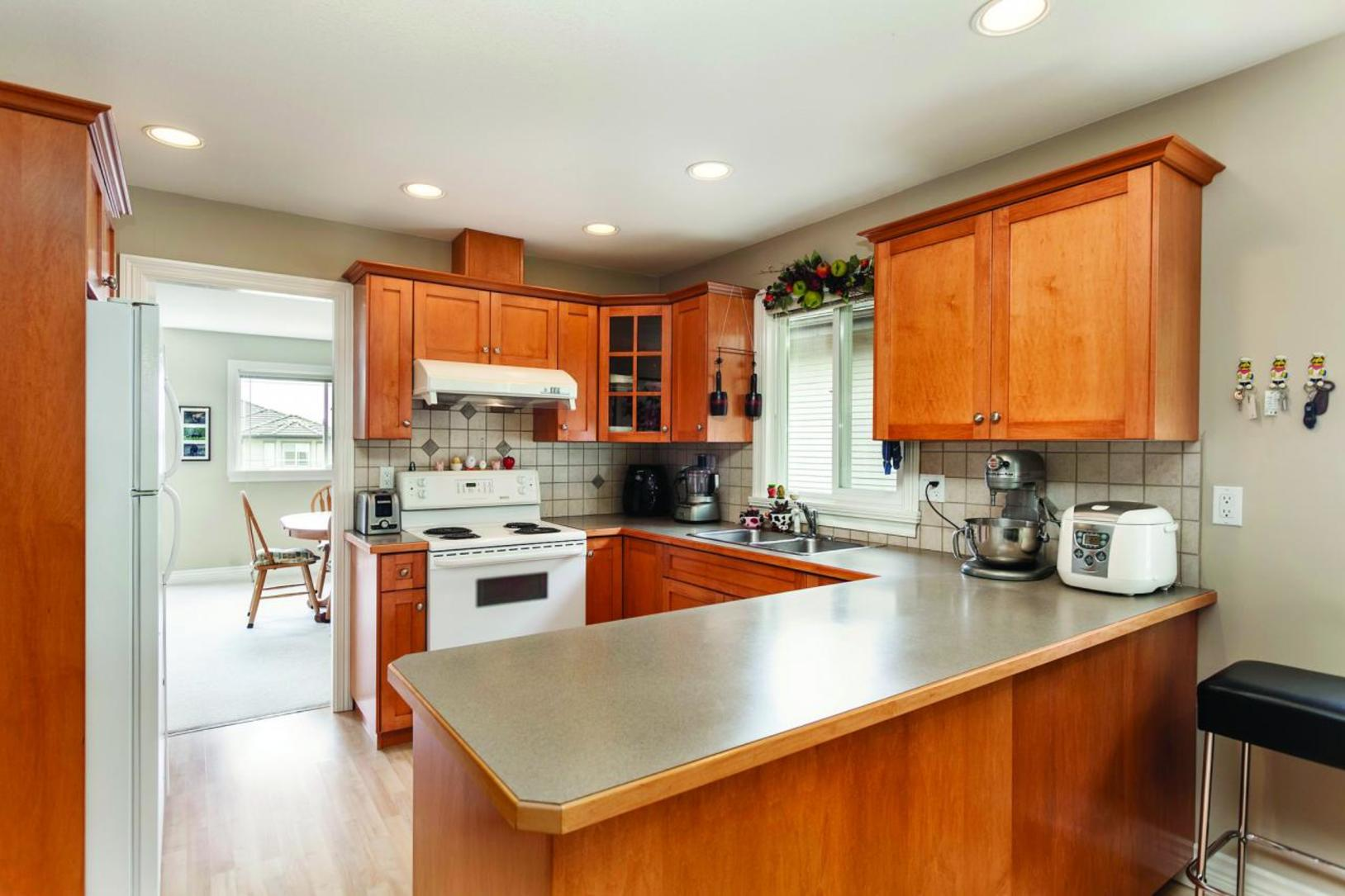Kitchen at 3057 Sienna Court, Coquitlam