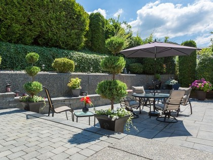 Backyard at 2654 Fortress Drive, Citadel PQ, Port Coquitlam