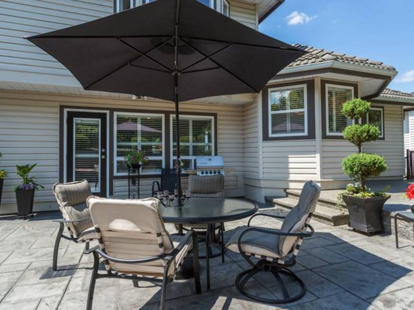 Backyard-1 at 2654 Fortress Drive, Citadel PQ, Port Coquitlam