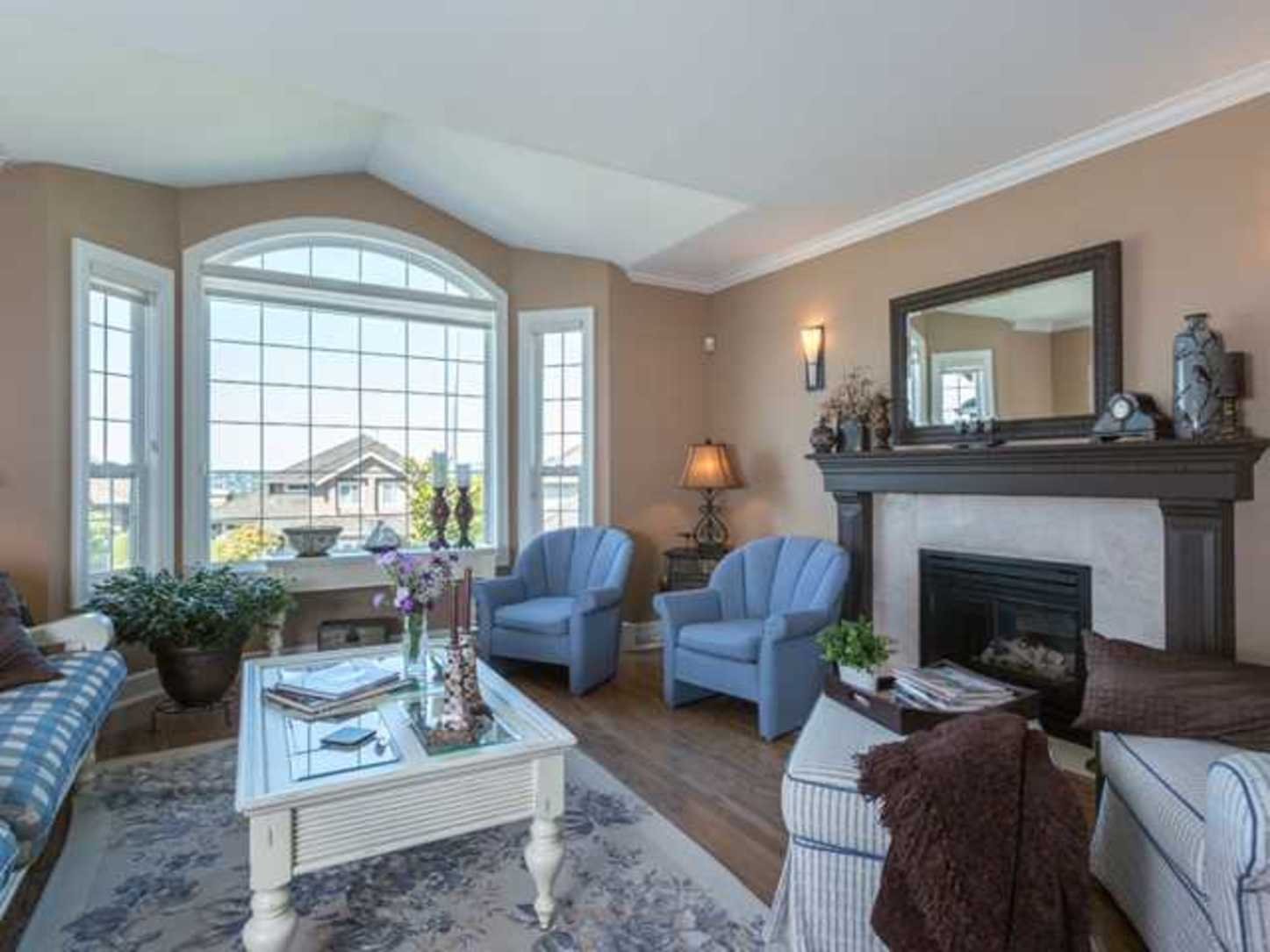 Living Room at 2654 Fortress Drive, Citadel PQ, Port Coquitlam