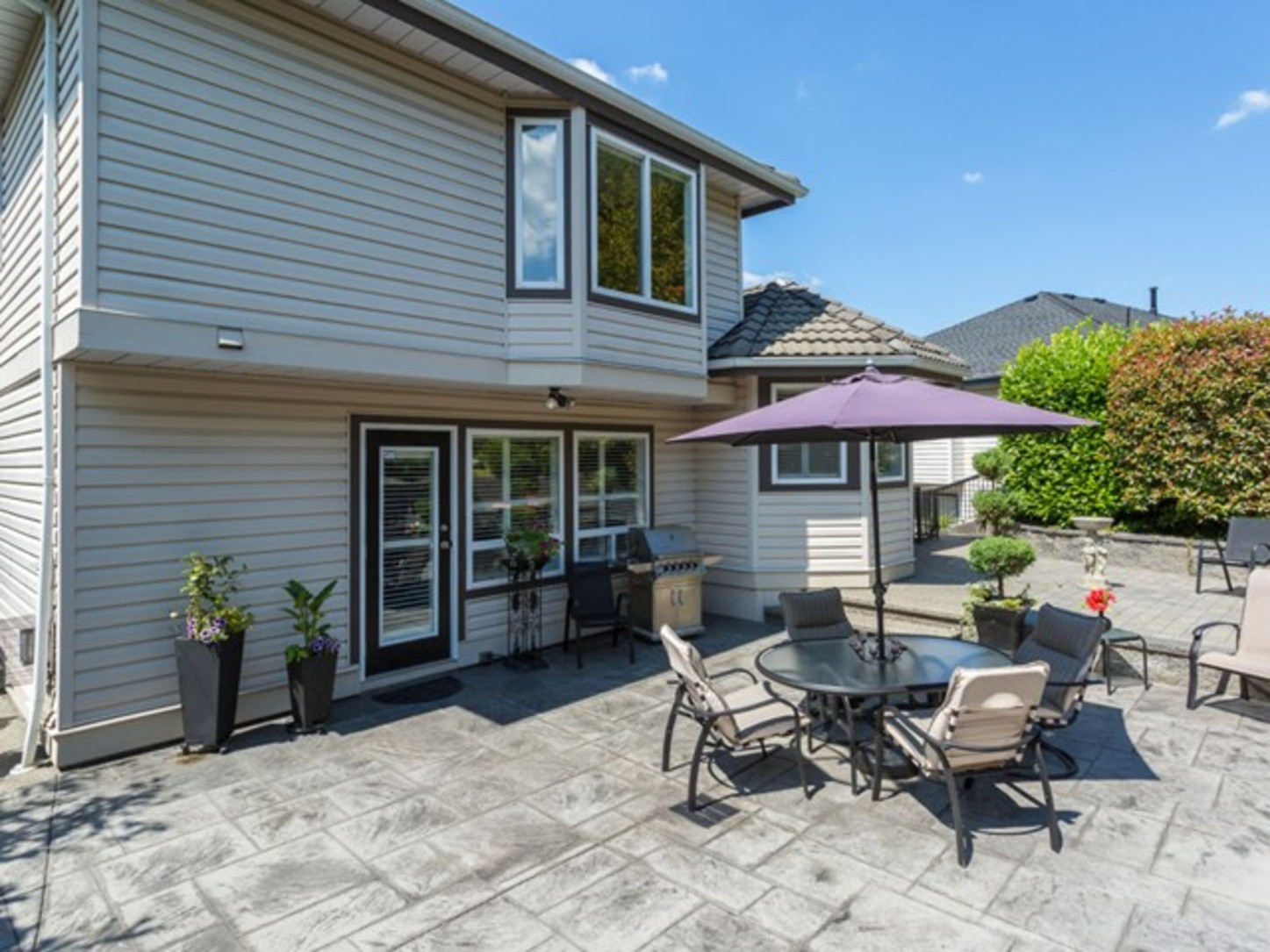 Backyard-2 at 2654 Fortress Drive, Citadel PQ, Port Coquitlam