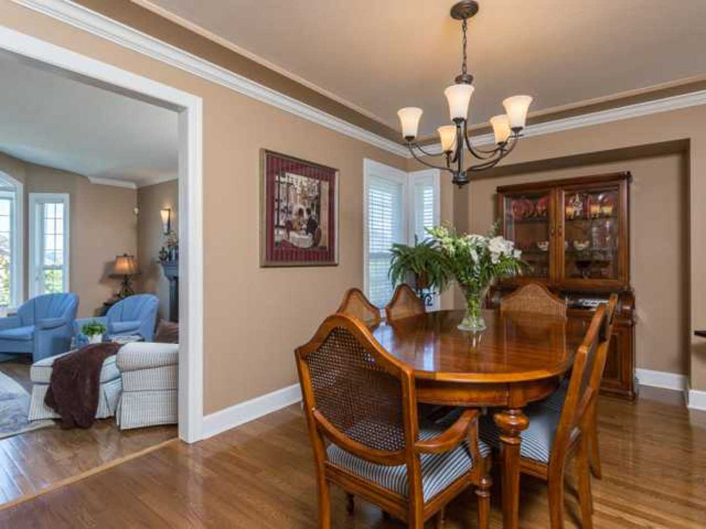 Dining room at 2654 Fortress Drive, Citadel PQ, Port Coquitlam