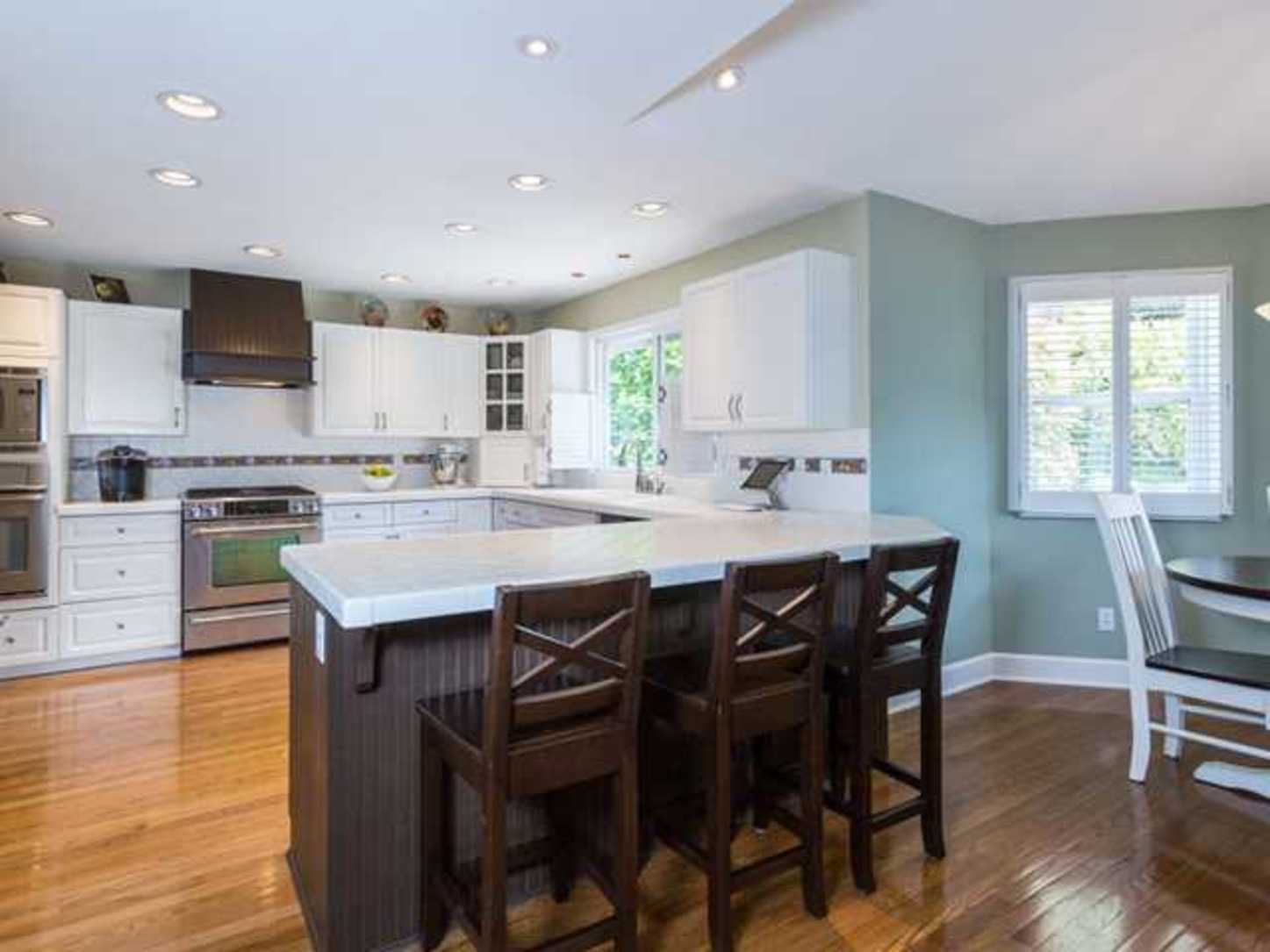 Breakfast nook at 2654 Fortress Drive, Citadel PQ, Port Coquitlam