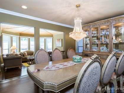 Dinning room at 9031 Briar Road,