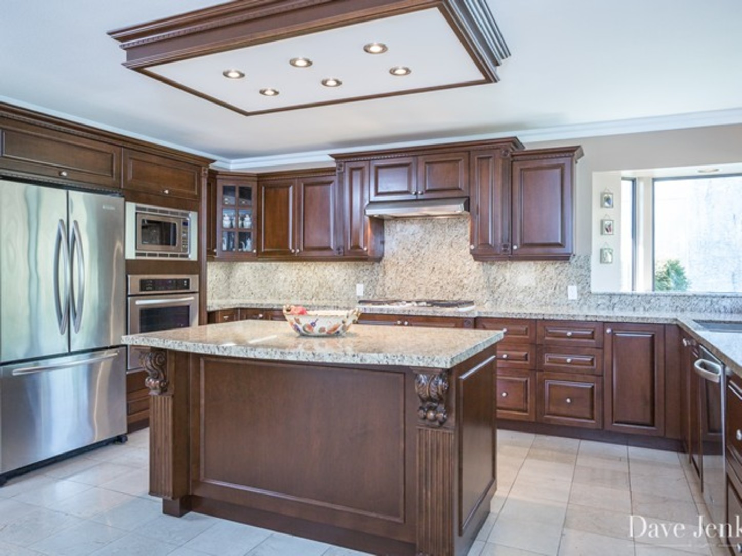 Kitchen at 9031 Briar Road,