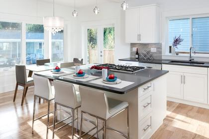 Gourmet Kitchen at 87 - 3295 Sunnyside Road, Anmore, Port Moody