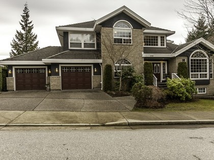Front side at 2558 Diamond Crescent, Westwood Plateau, Coquitlam