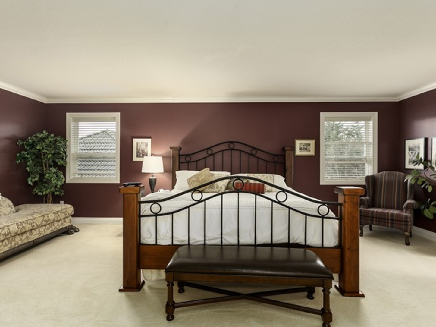 Master bedroom at 2558 Diamond Crescent, Westwood Plateau, Coquitlam