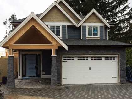 Front side  at 3472 Gislason Ave, Burke Mountain, Coquitlam