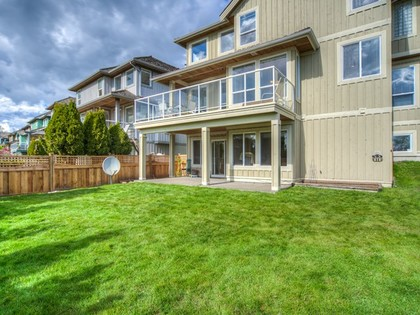 Backyard at 15338 Sequoia Drive, Heritage Woods PM, Port Moody