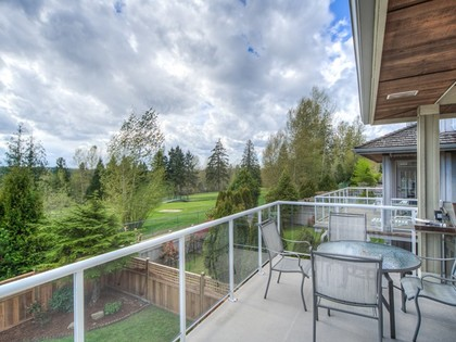 Balcony at 15338 Sequoia Drive, Heritage Woods PM, Port Moody