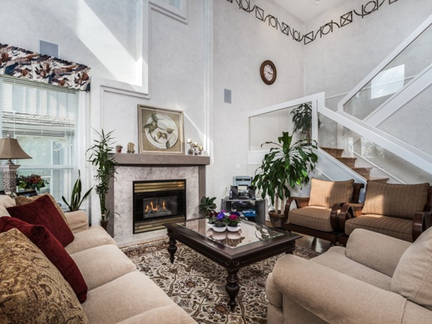 Living Room-1 at 15338 Sequoia Drive, Heritage Woods PM, Port Moody