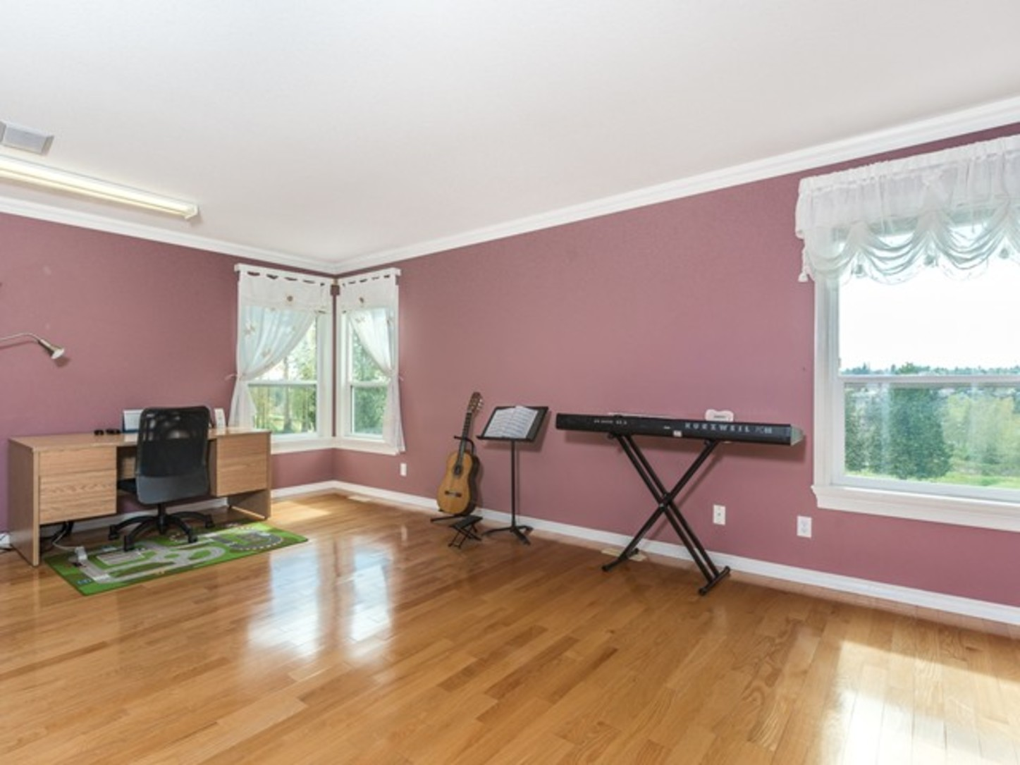 Music Room at 15338 Sequoia Drive, Heritage Woods PM, Port Moody