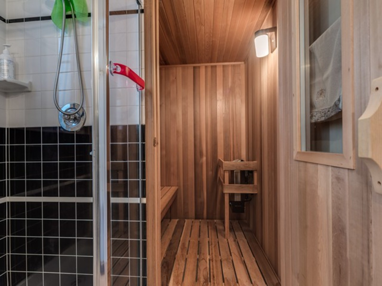 Sauna at 15338 Sequoia Drive, Heritage Woods PM, Port Moody
