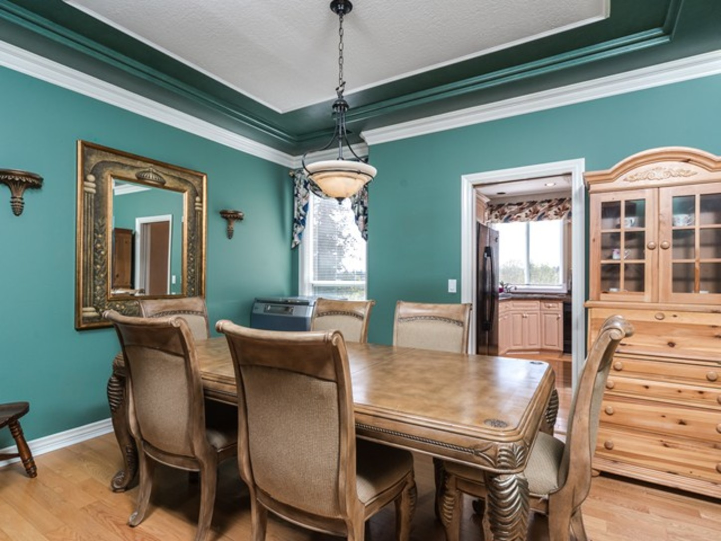 Dining room at 15338 Sequoia Drive, Heritage Woods PM, Port Moody
