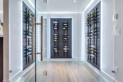 Wine Room at 741 Winona Avenue, Forest Hills NV, North Vancouver