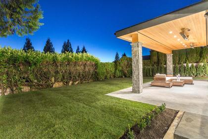 Private Backyard at 741 Winona Avenue, Forest Hills NV, North Vancouver