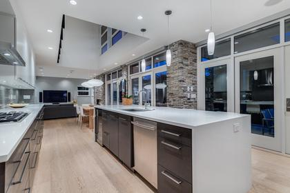 Open Kitchen at 925 Glenora Avenue, Edgemont, North Vancouver
