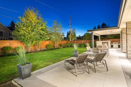Great Backyard at 925 Glenora Avenue, Edgemont, North Vancouver