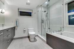 Ensuite Bathroom at 925 Glenora Avenue, Edgemont, North Vancouver