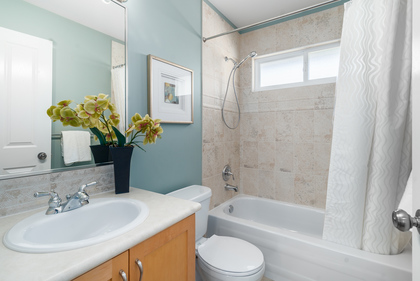 Main Bathroom at 1870 Peters Road, Lynn Valley, North Vancouver