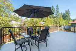 Sundeck off Family Room with Gas Hookup at 1870 Peters Road, Lynn Valley, North Vancouver
