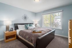 Master Bedroom at 1870 Peters Road, Lynn Valley, North Vancouver
