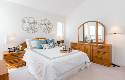 Master Bedroom at 7427 Echo Place, Champlain Heights, Vancouver East