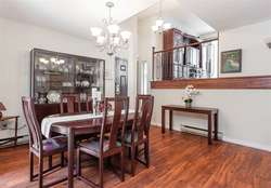 Dining Room at 7427 Echo Place, Champlain Heights, Vancouver East