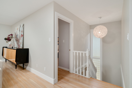 Designer colours and finishes at 1497 Harold Road, Lynn Valley, North Vancouver