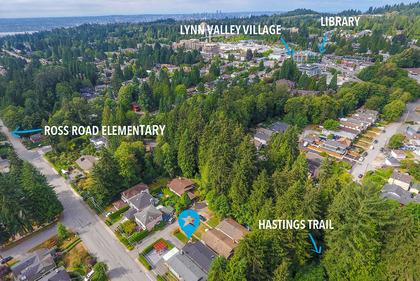 harold-road-drone-still-marked at 1497 Harold Road, Lynn Valley, North Vancouver