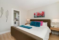 Master Bedroom at 1497 Harold Road, Lynn Valley, North Vancouver