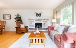 Fairmont | Edgemont Village | Living Room  at 3496 Fairmont Road, Edgemont, North Vancouver