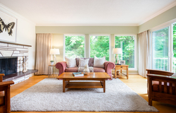 Fairmont | Edgemont Village | Living Room  at 3496 Fairmont Road, Edgemont, North Vancouver