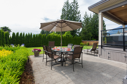 Patio | Edgemont Family Home | North Vancouver at 4565 Ranger Avenue, Canyon Heights NV, North Vancouver