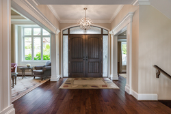 Foyer | Edgemont Family Home | North Vancouver at 4565 Ranger Avenue, Canyon Heights NV, North Vancouver