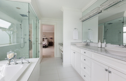 Master Ensuite | Edgemont Family Home | North Vancouver at 4565 Ranger Avenue, Canyon Heights NV, North Vancouver