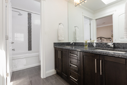 Jack & Jill Ensuite | Edgemont Family Home | North Vancouver at 4565 Ranger Avenue, Canyon Heights NV, North Vancouver
